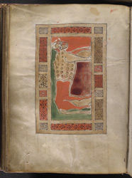 The Evangelist Symbol Of Luke, In 'The Gospels Of Mael Brigte'